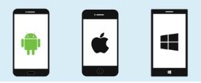 InfoALERT365 web app è disponibile Android, iOS o Windows Phone