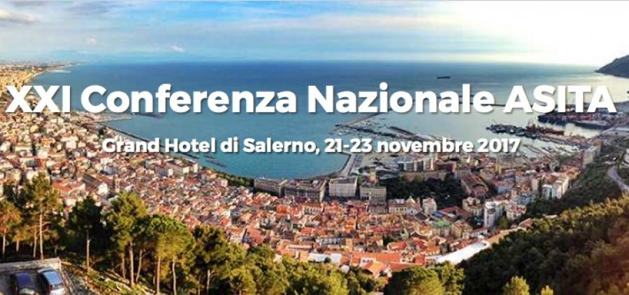 XXI Conferenza ASITA, Salerno 21-23 Novembre 2017
