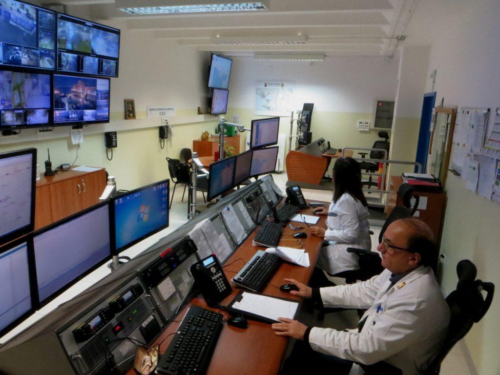 Taranto, Sala operativa comunale