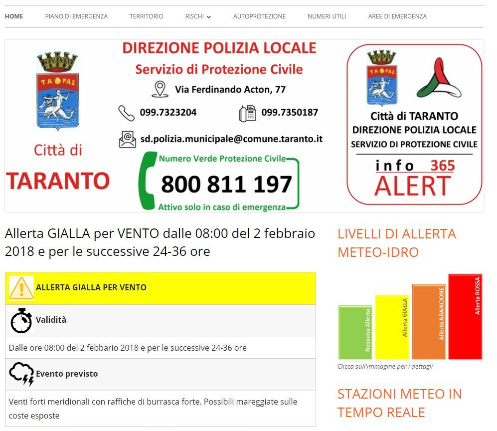 infoAlert365 Taranto