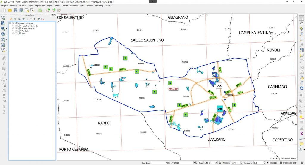 VeSIT - Sistema Informativo Territoriale del Comune di Veglie